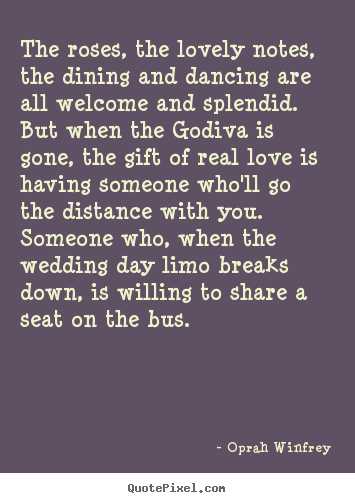 Oprah on love